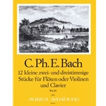 Bach, CPE 12 little pieces (Wq81)