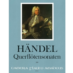 Handel, GF: 7 Sonatas for flute and continuo