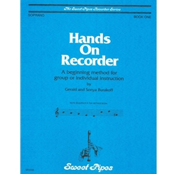 Burakoff, Gerald Hands On Recorder