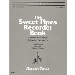 Burakoff, Gerald Sweet Pipes Recorder Book, Alto, Book 2 (Adults and older beginners)