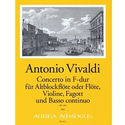Vivaldi, Antonio: Concerto in F Major, RV 100