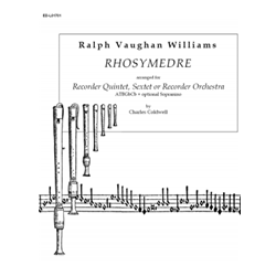 Vaughan Williams, Ralph: Rhosymedre for Recorder Ensemble
