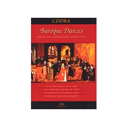 Czidra (ed.): Baroque Dances for two alto recorders