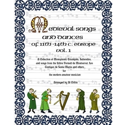 Cofrin, ed.: Medieval Songs and Dances, 11th-14th c. Europe, vol. 1