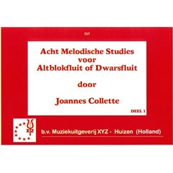 Collette, J: 8 Melodic Studies