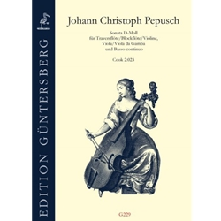 Pepusch, JC: [Trio] Sonata in d (Cook 2:023)