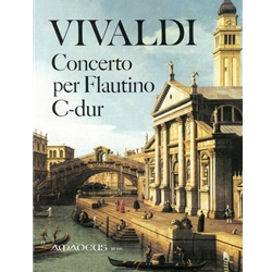 Vivaldi Concerto in C Major for Flautino, op. 44/11 (Keyboard Reduction)